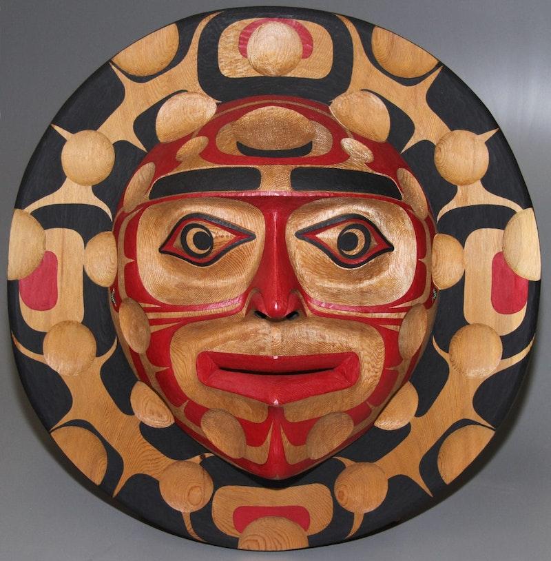 Kwagiulth Moon Mask