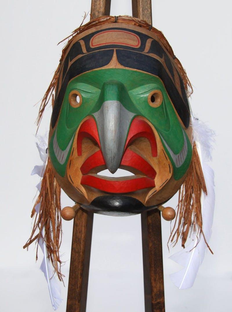 Bella Coola Eagle Mask Image 1