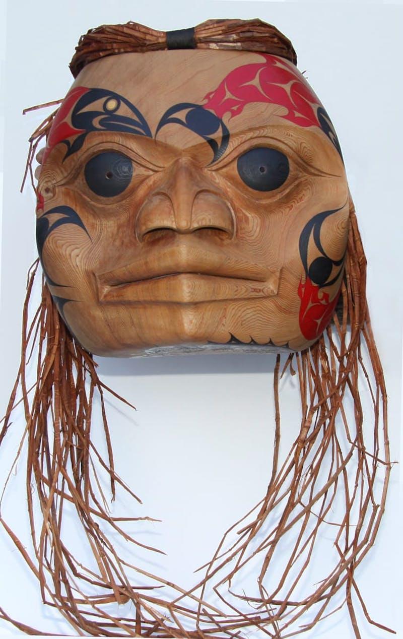 'Spirit of the Fraser River' (Salish Mask)