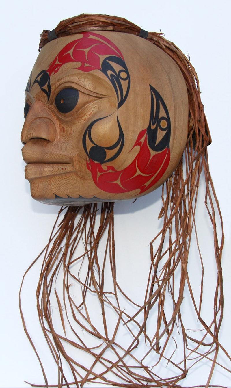 'Spirit of the Fraser River' (Salish Mask) Image 2