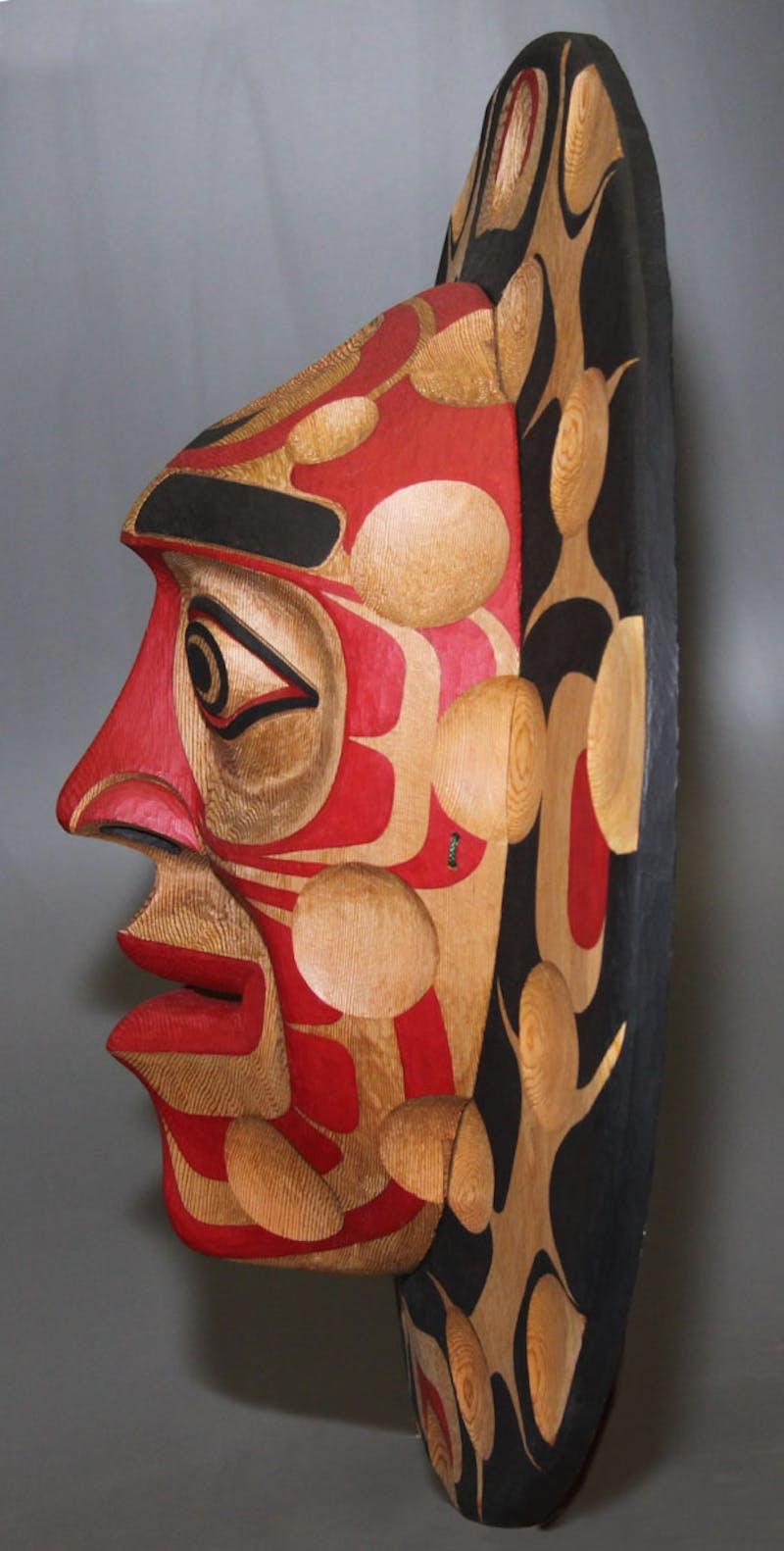 Kwagiulth Moon Mask Image 2