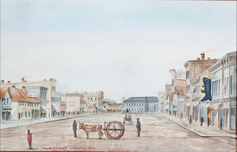Main Street, Winnipeg (Looking Toward William from Portage) Image 1