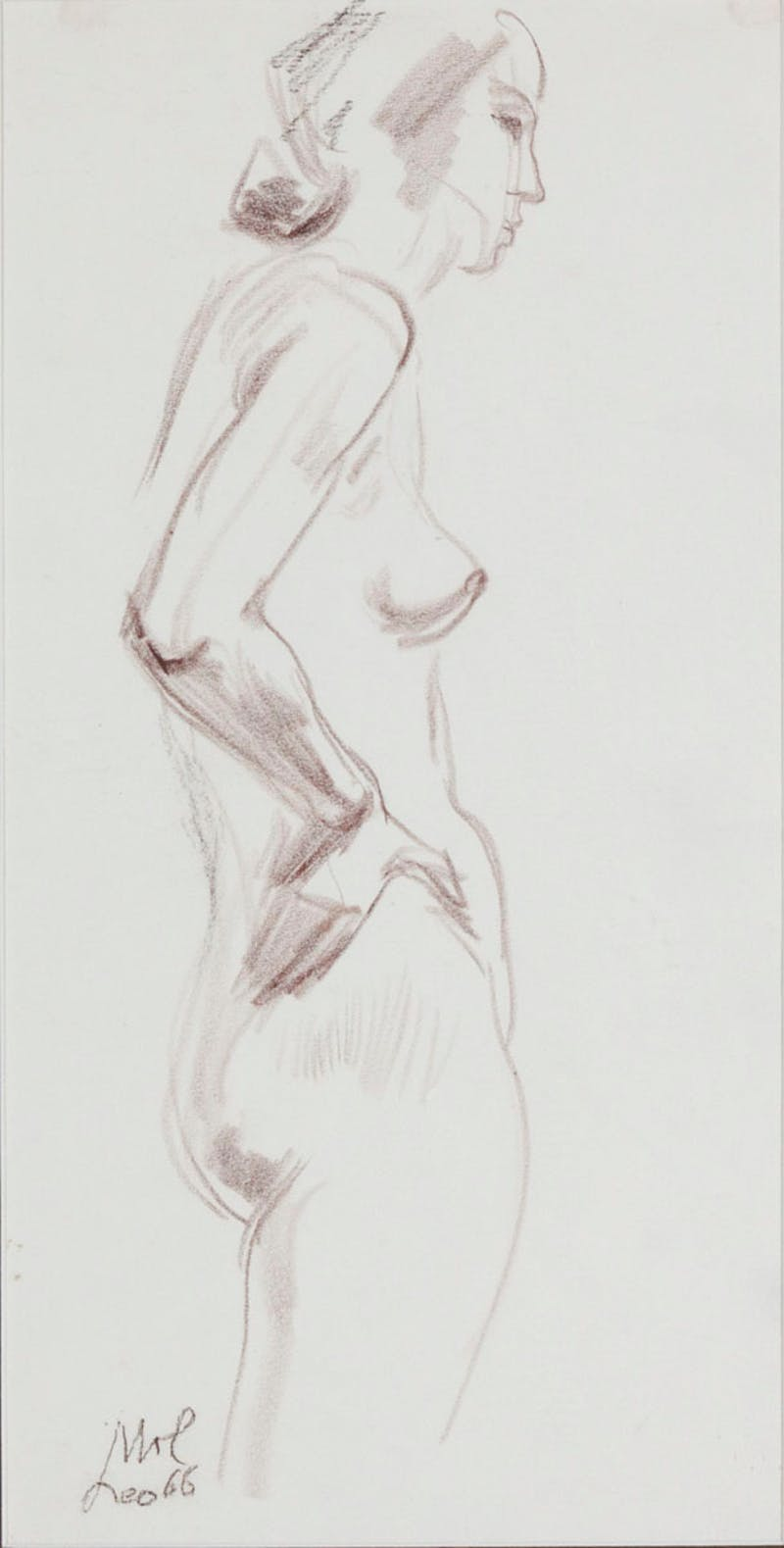 Nude Torso aw25594