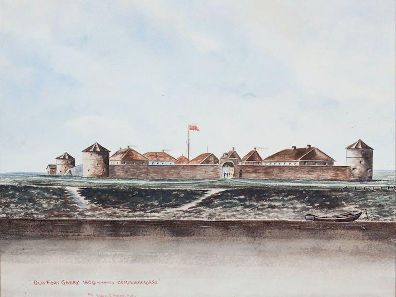 Old Fort Garry, 1869 (Demolished1882)