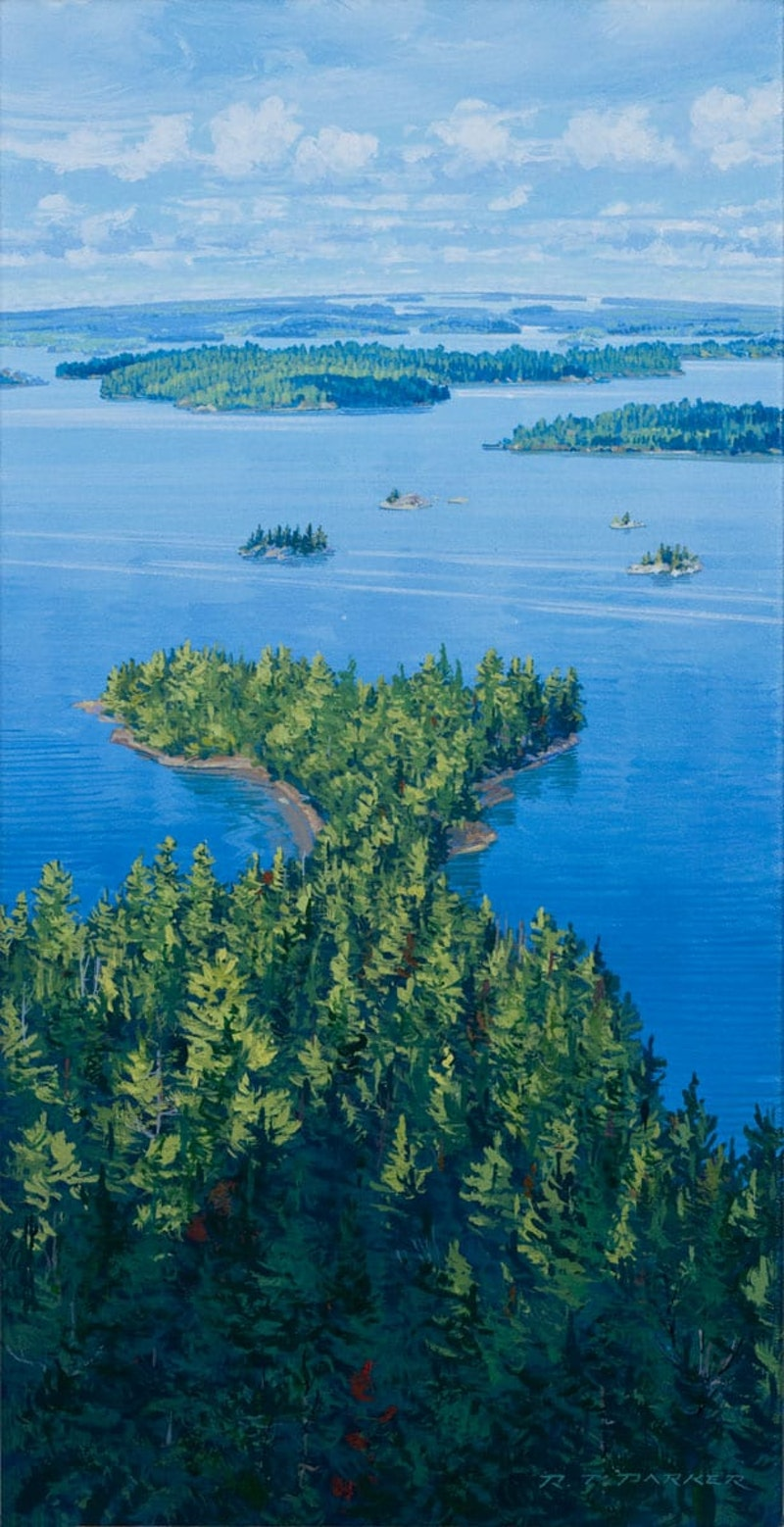 Walter J. Phillips Island from Lunnys Island Image 1