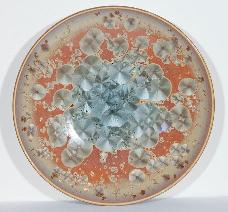 Coral Blue Bowl