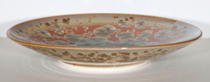 Coral Blue Bowl Image 2