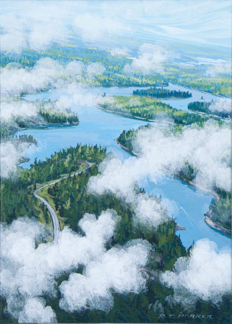 The Winnipeg River, North of Kenora Image 1