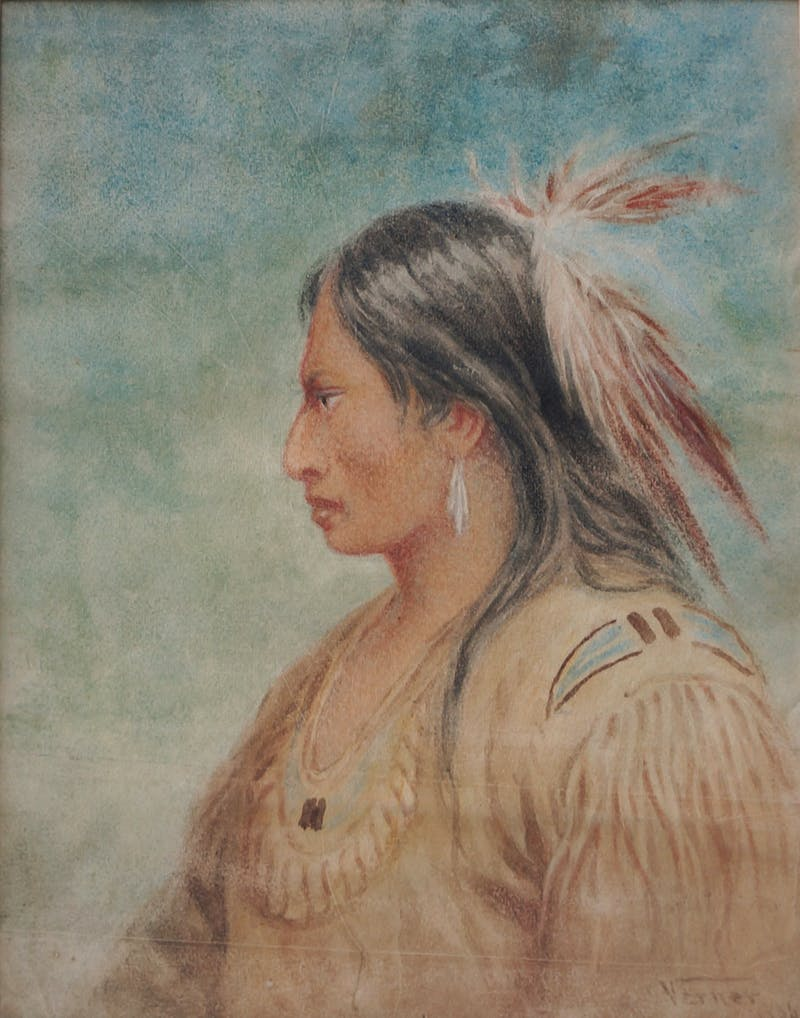 Ojibwe Indian, Rainy RIver