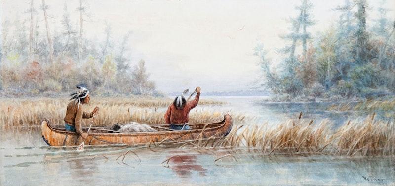 Ojibway Indians, Rainy River