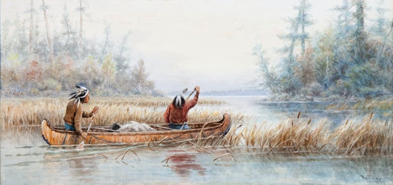 Ojibway Indians, Rainy River Image 1