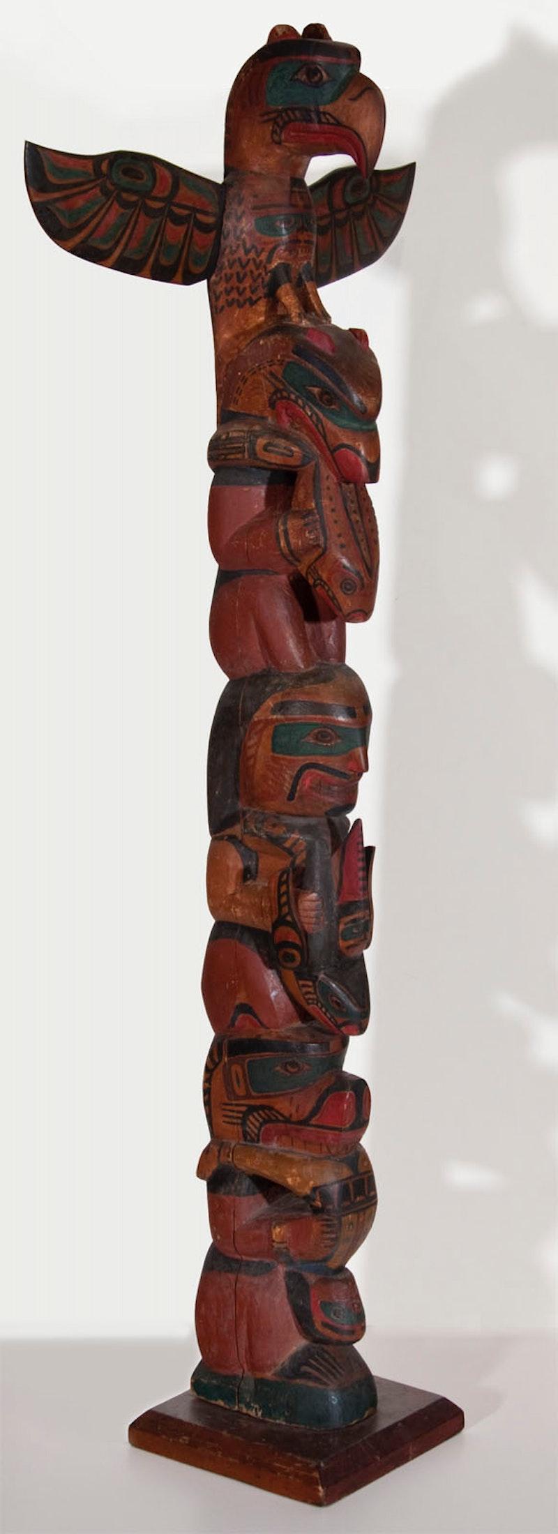 Alert Bay Totem Image 1
