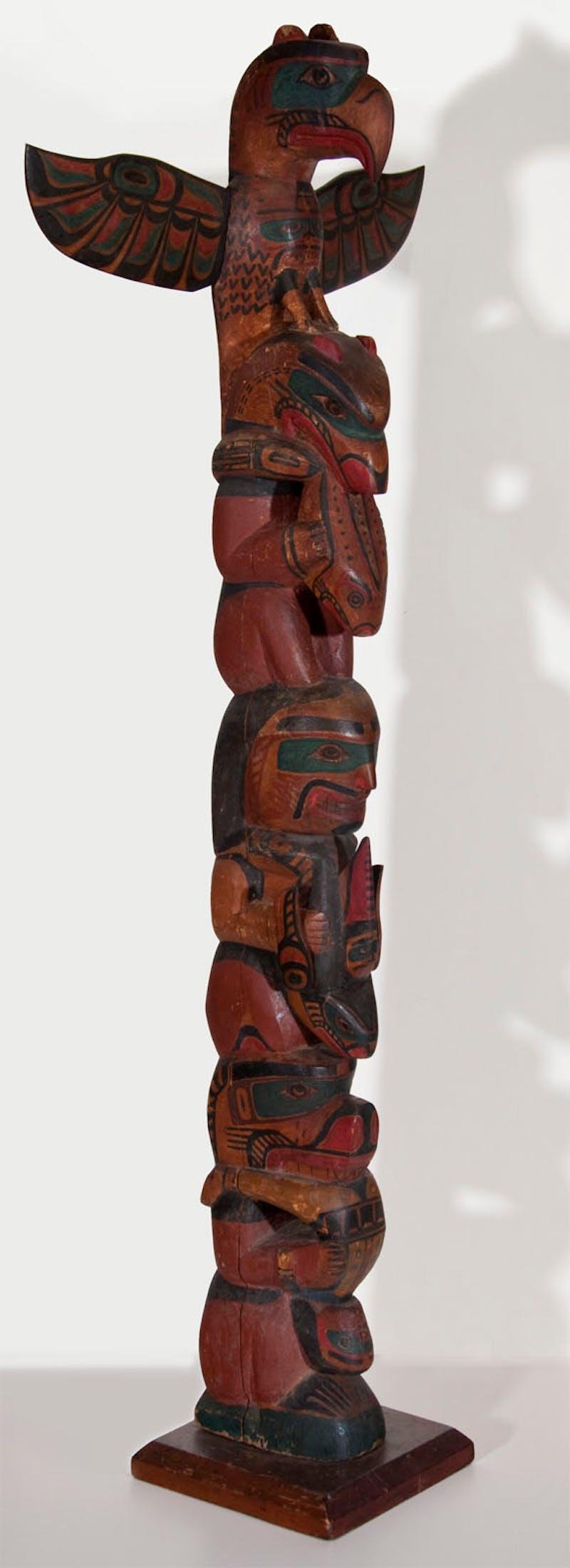 Alert Bay Totem