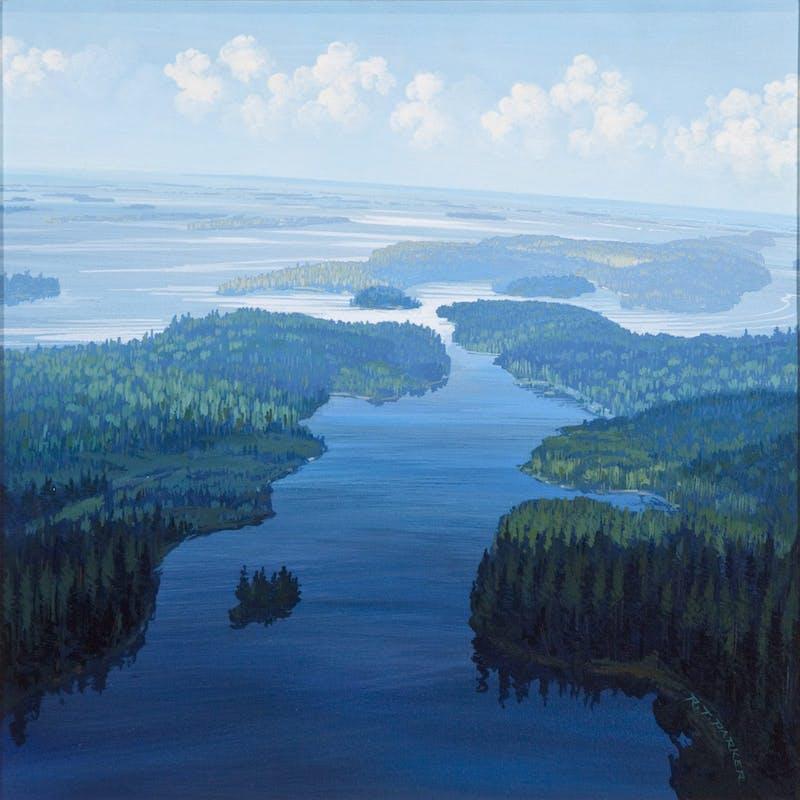 Light on Holstrom's Marsh Image 1