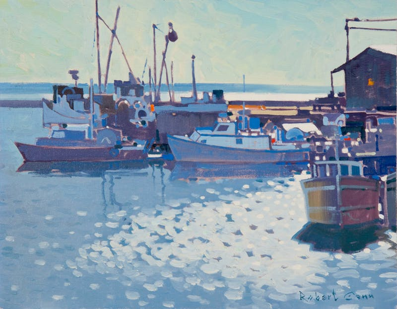 The Wharf at Alert Bay, Comorant Island BC Image 1