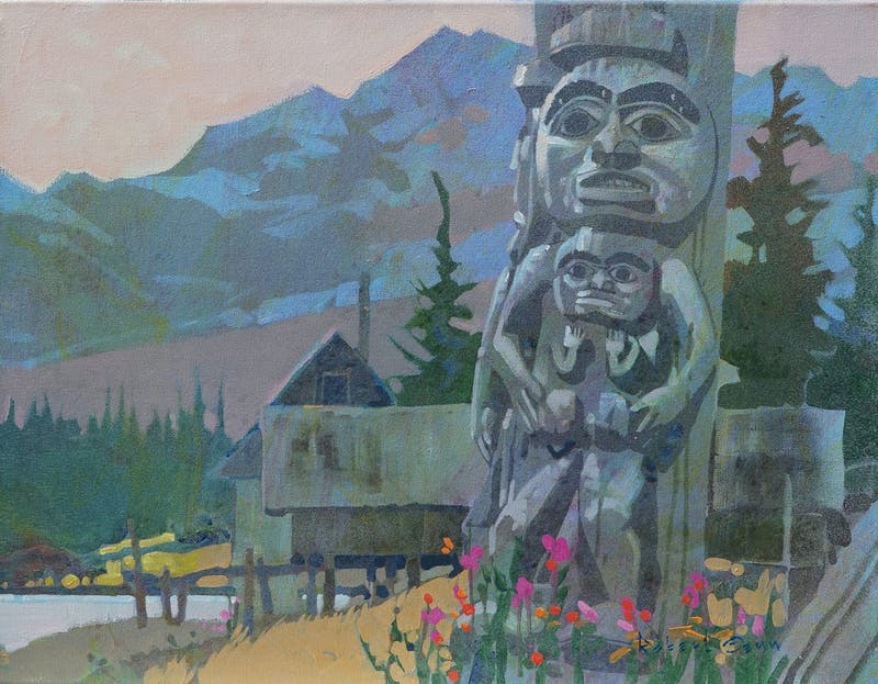 Tsimshian Village Image 1