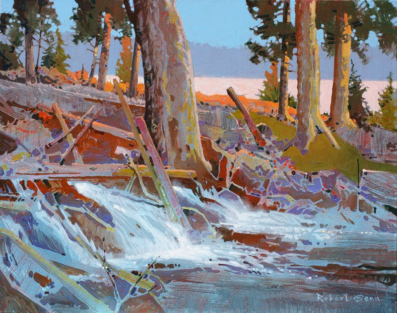 """The Eternal Spring"" Unnamed Creek LOTW Image 1"