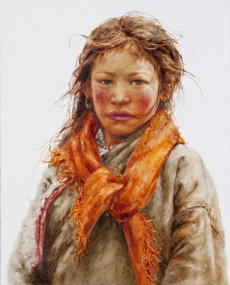 Shepherd Girl on the Plateau Image 1