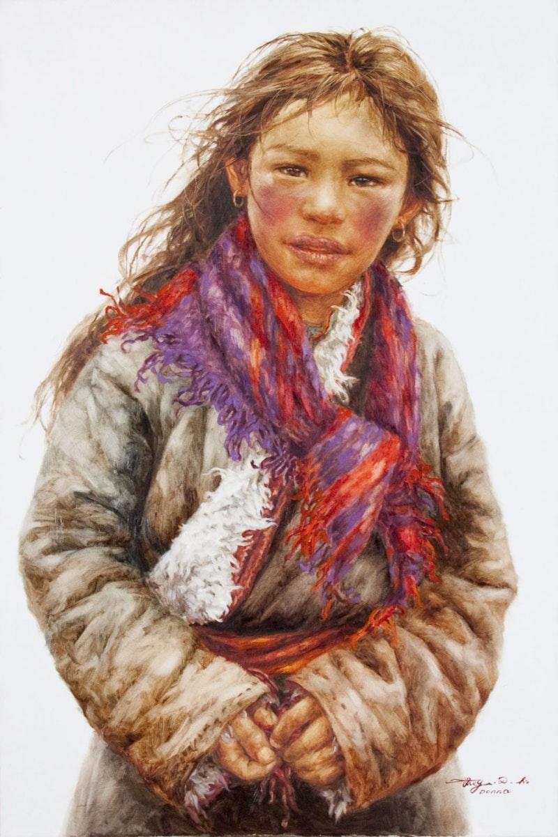 Young Shepherd Girl Image 1