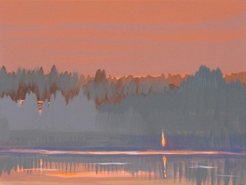Deep Bay Reflection