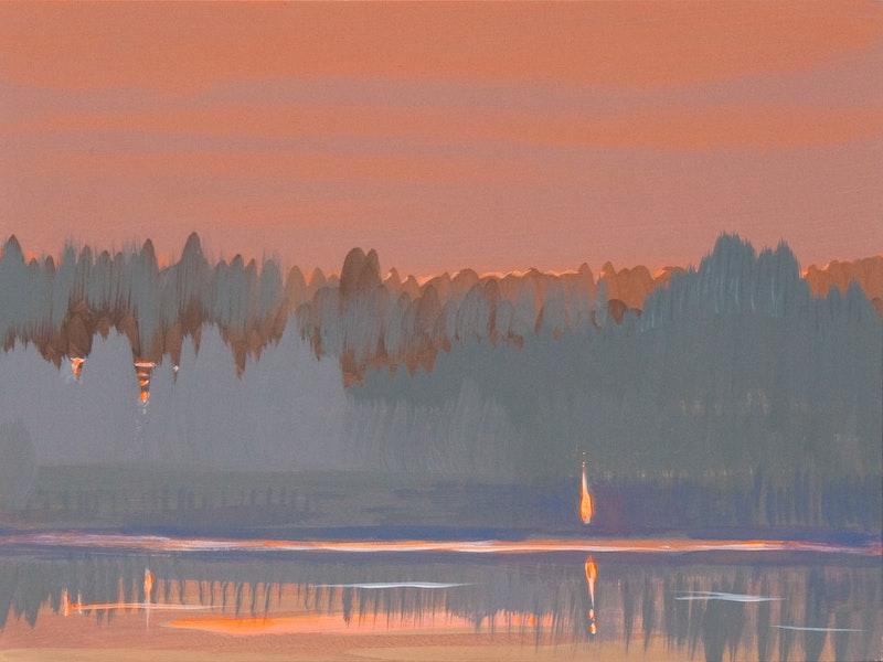 Deep Bay Reflection Image 1