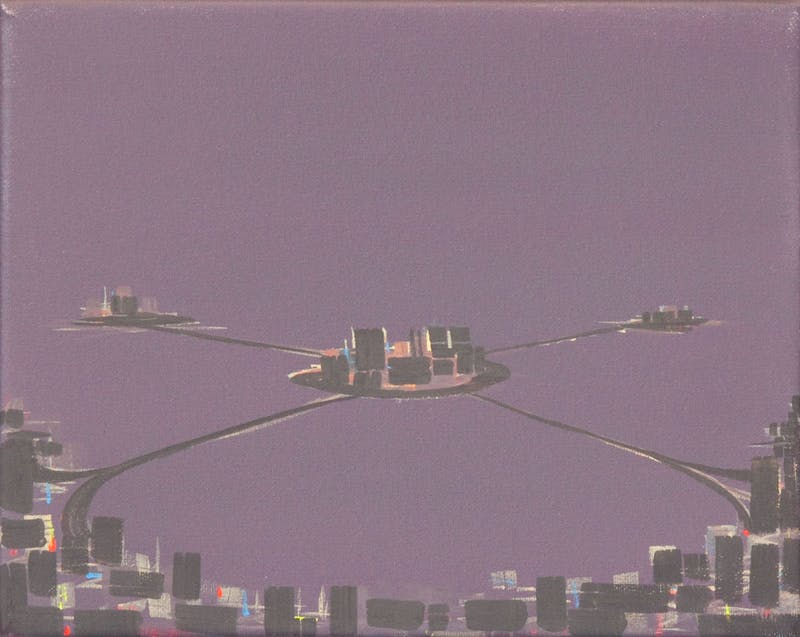 Satellite Cities, Mauve Night
