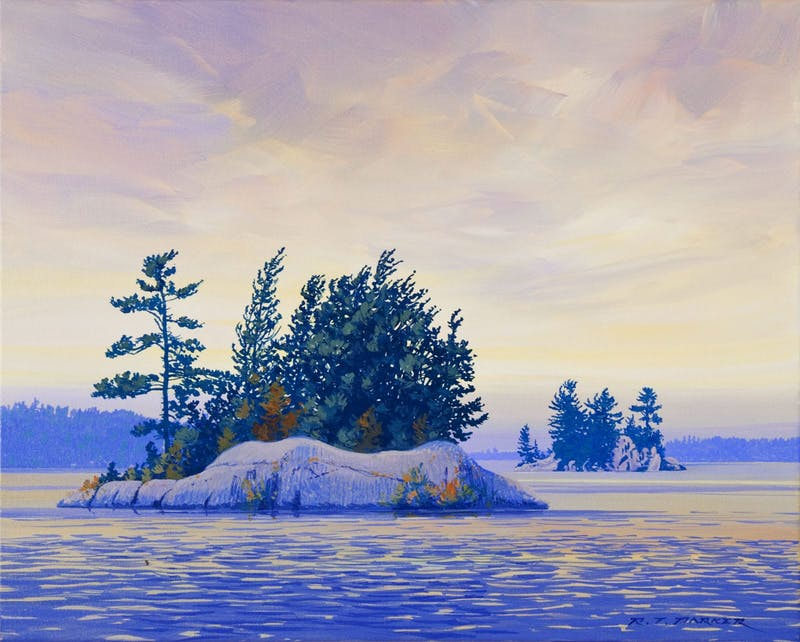 Wind in the Trees, (Phillips Island looking West) Image 1