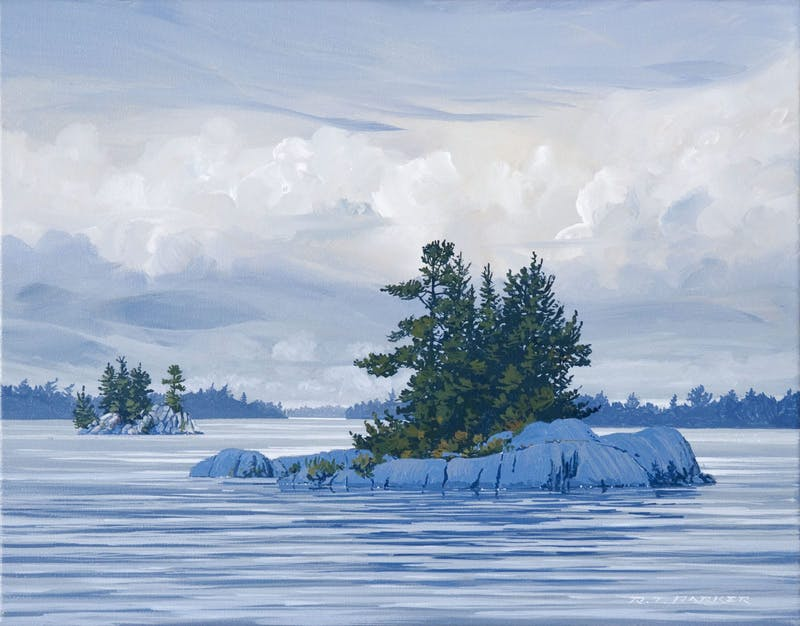 Iconic Lake of theWoods (Looking west from Lunny's Island) Image 1