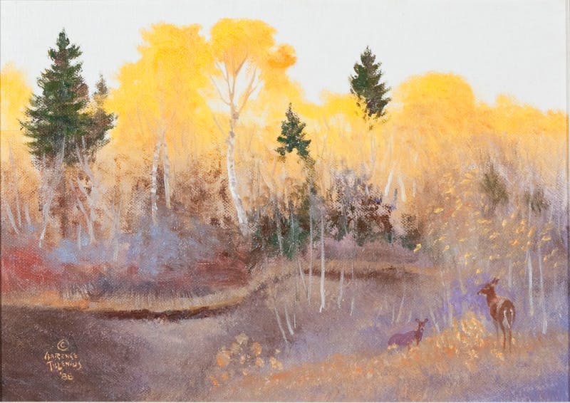 Aspens Aflame