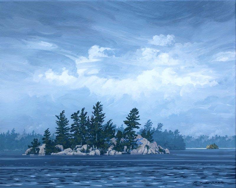 Island in the Wind (Northwest of Bells Island) Image 1