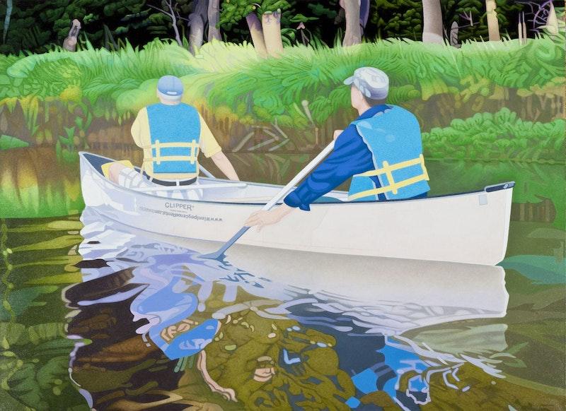 Canoeing - La Salle River