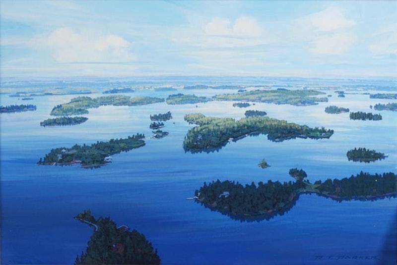 Looking North beyond Gun Club Island Image 1