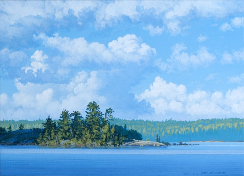 Cumulus Rising, Lake Of The Woods Image 1