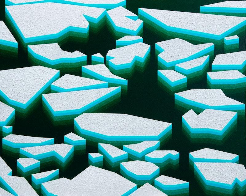 Fractured Monochrome No. 6 Image 1