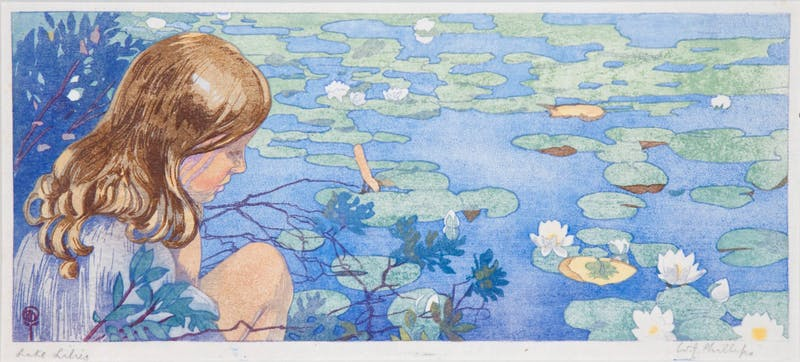 Lake Lilies Ed./50