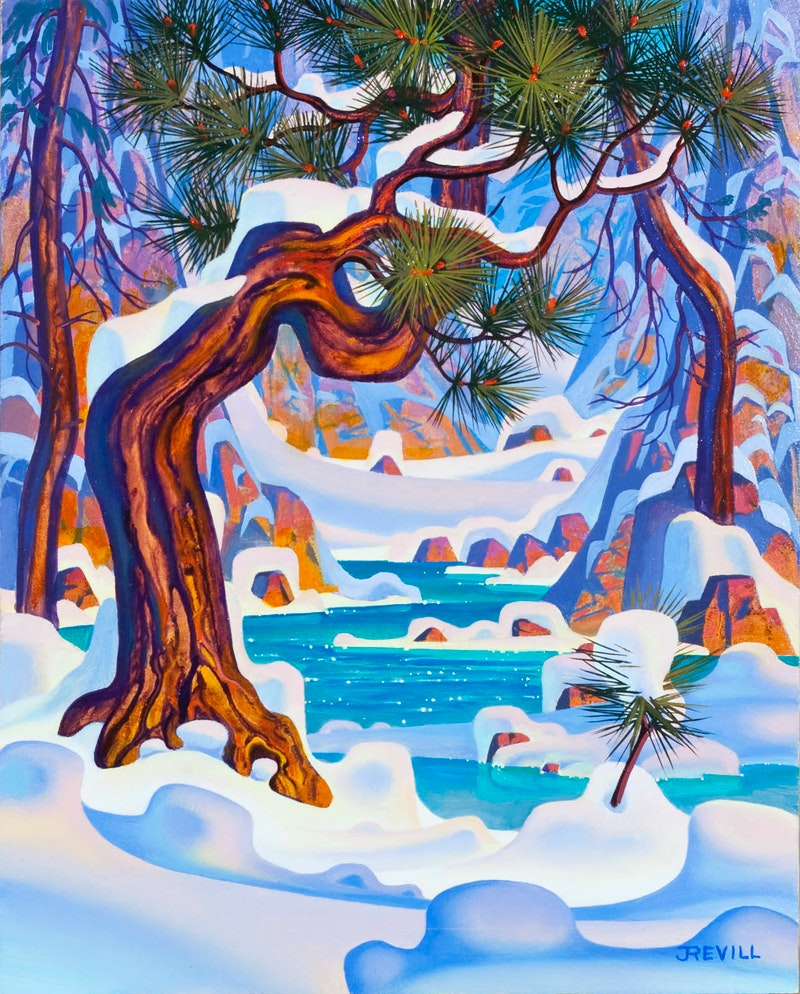 Winter's Gulley