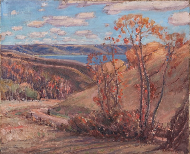 Road to the Lake, Fort Qu'Appelle Image 1