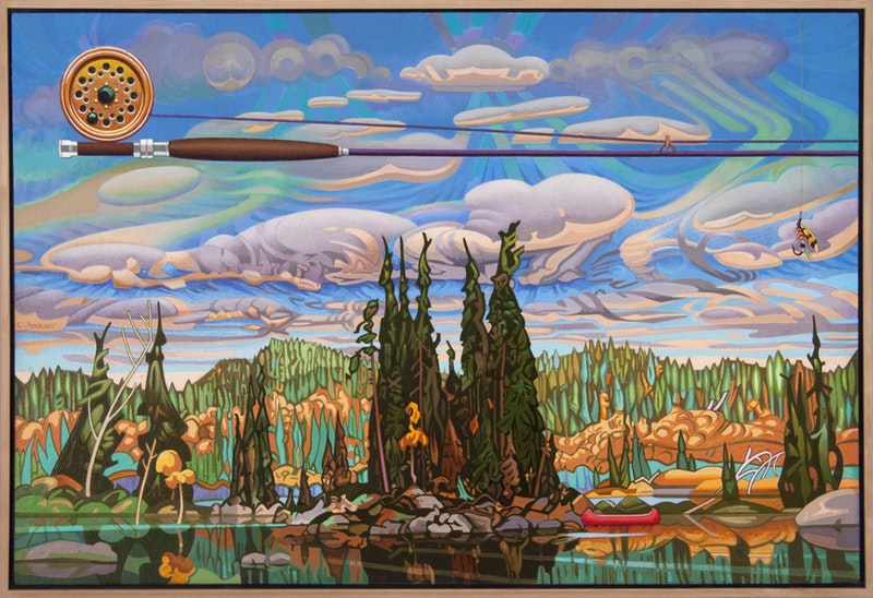 Isles of Spruce - After Arthur Lismer