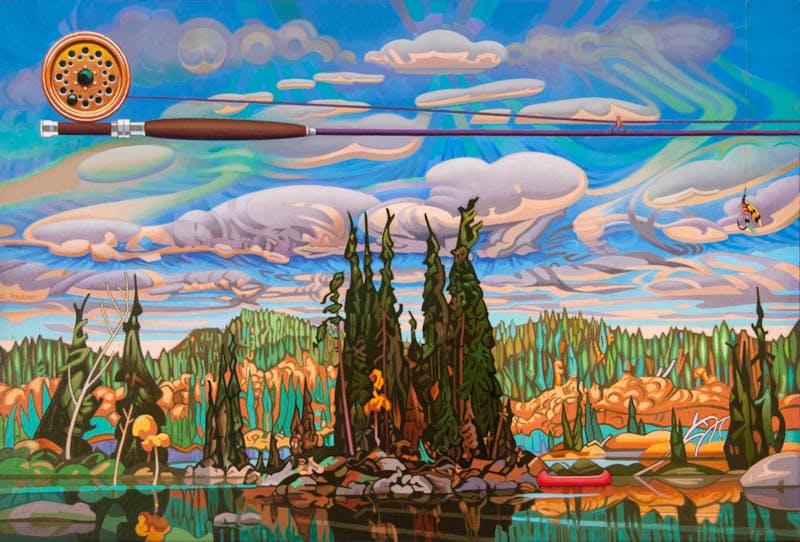 Isles of Spruce - After Arthur Lismer Image 2