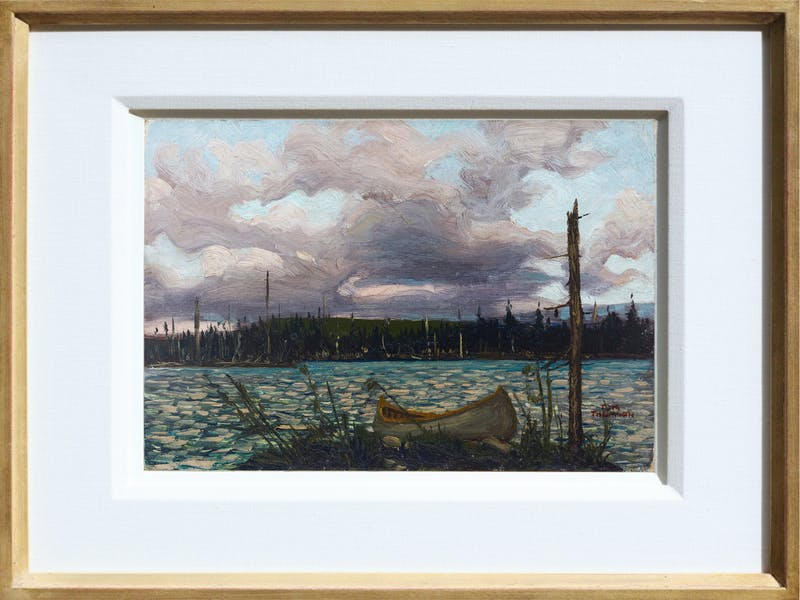 Canoe and Lake, Algonquin Park Image 2