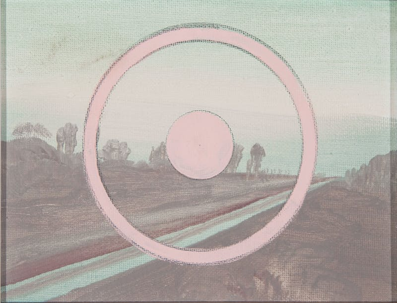 Sightline (Pale Pink Line)