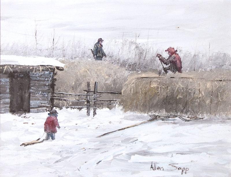 Putting Hay on Haystack Image 1