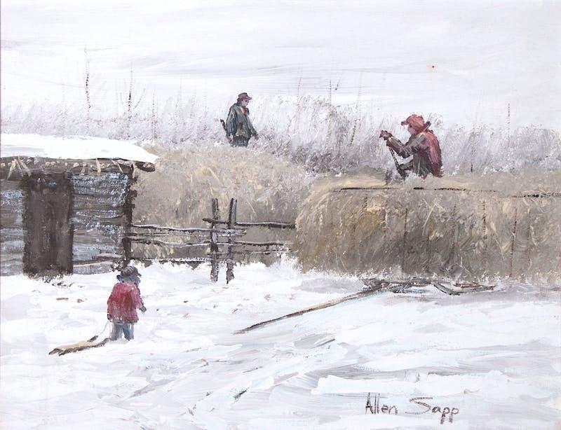 Putting Hay on Haystack