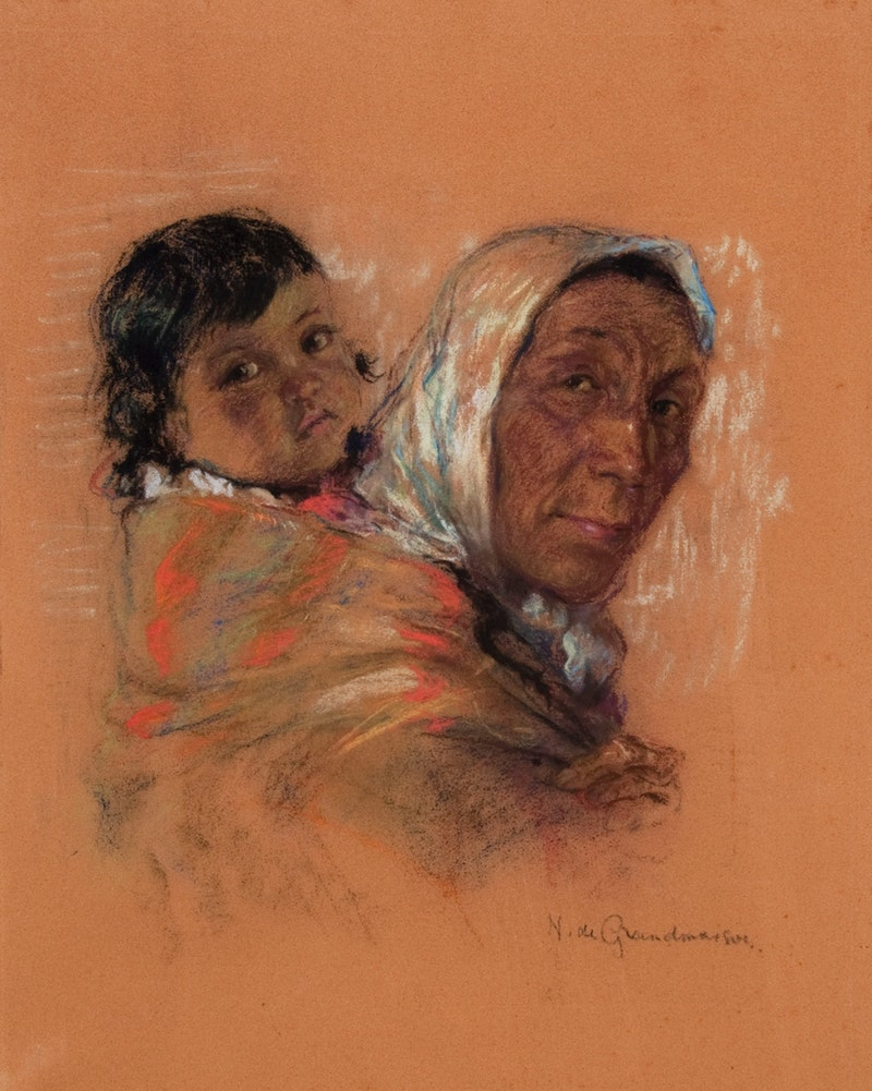 Mother and Papoose Image 1