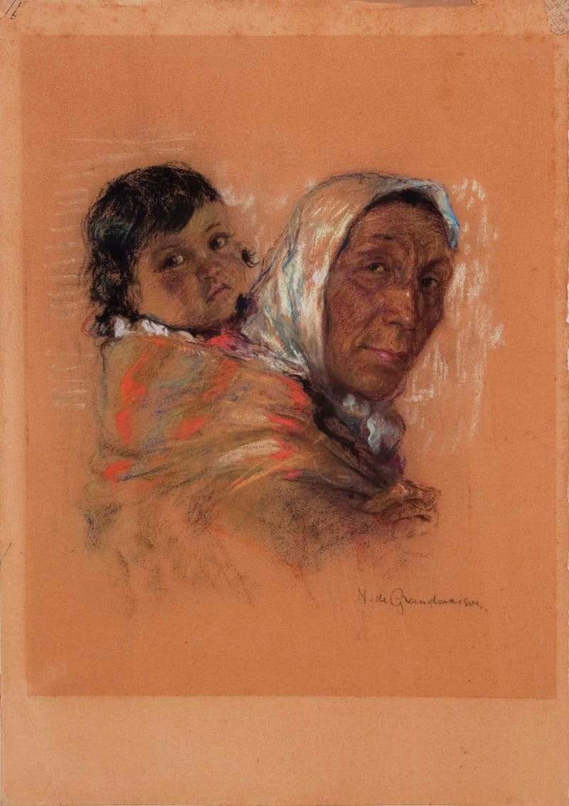 Mother and Papoose Image 2