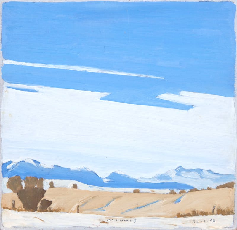Fields & Mountains, Winter Image 1