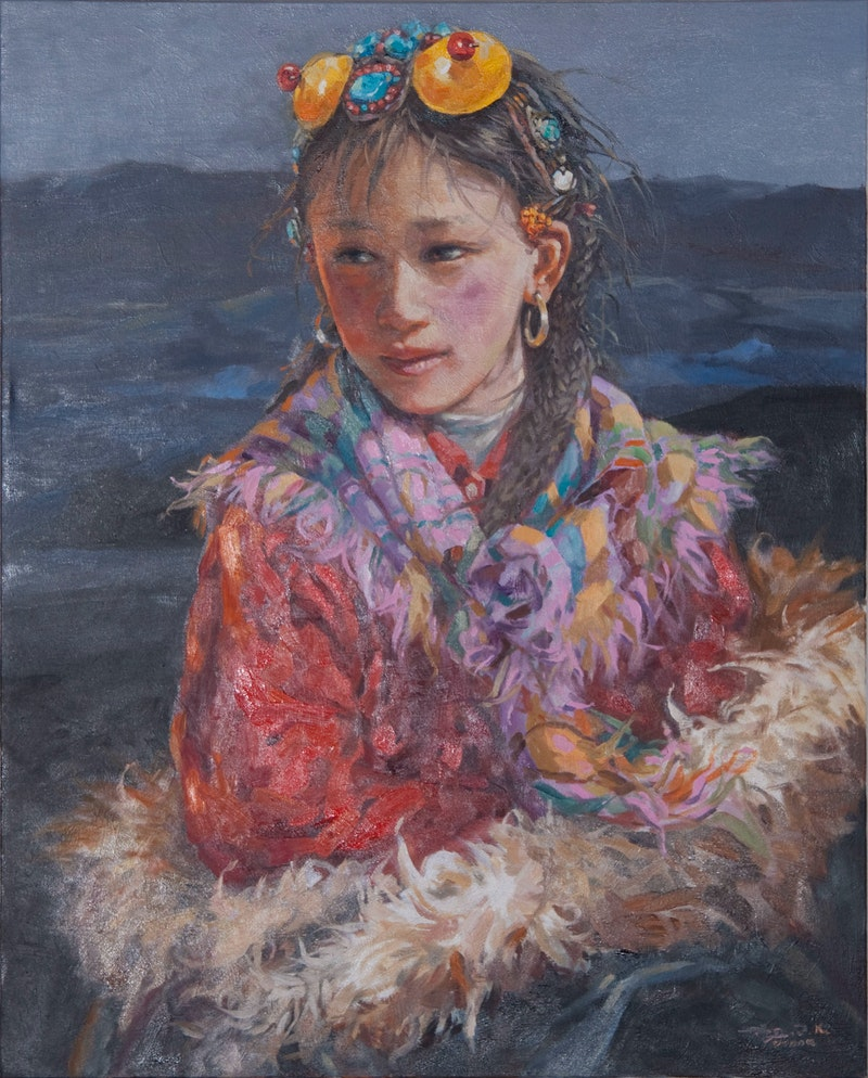 Colourful Girl