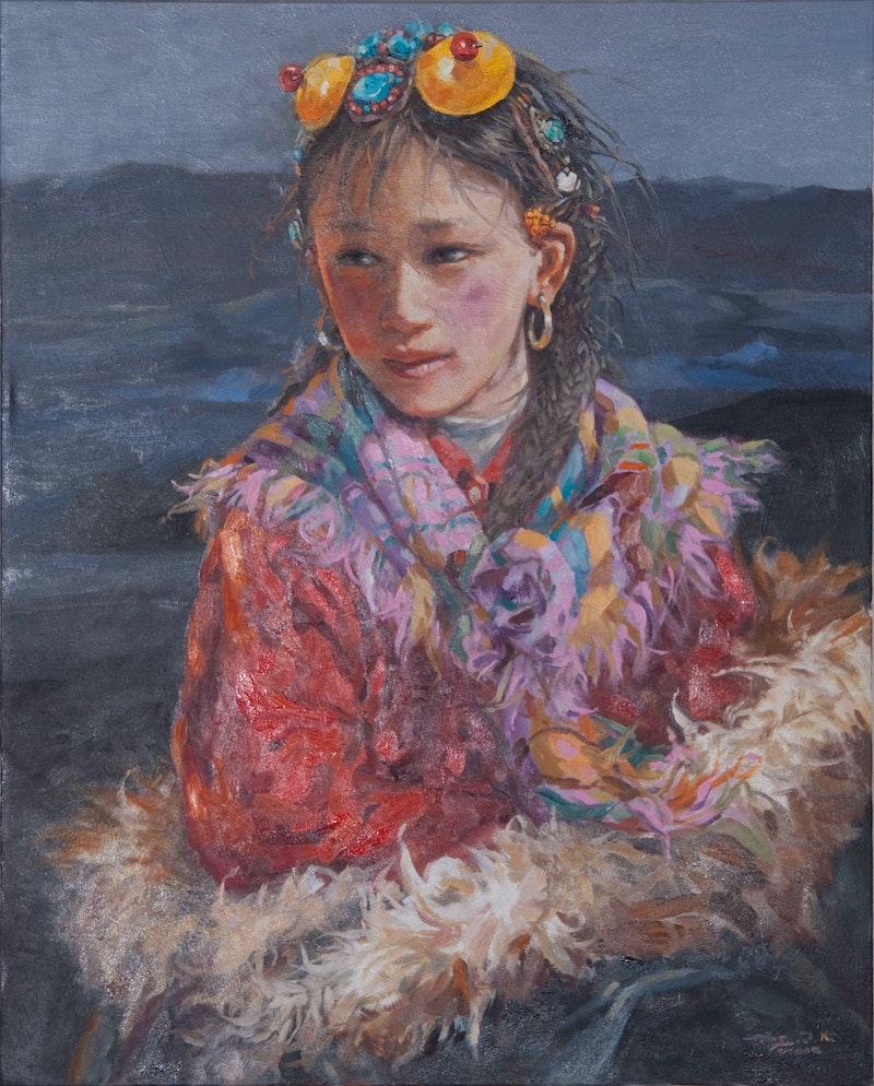 Colourful Girl Image 1