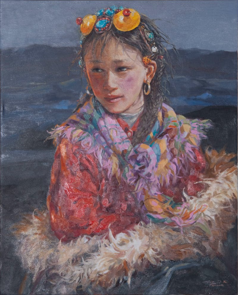 Colourful Girl Image 1