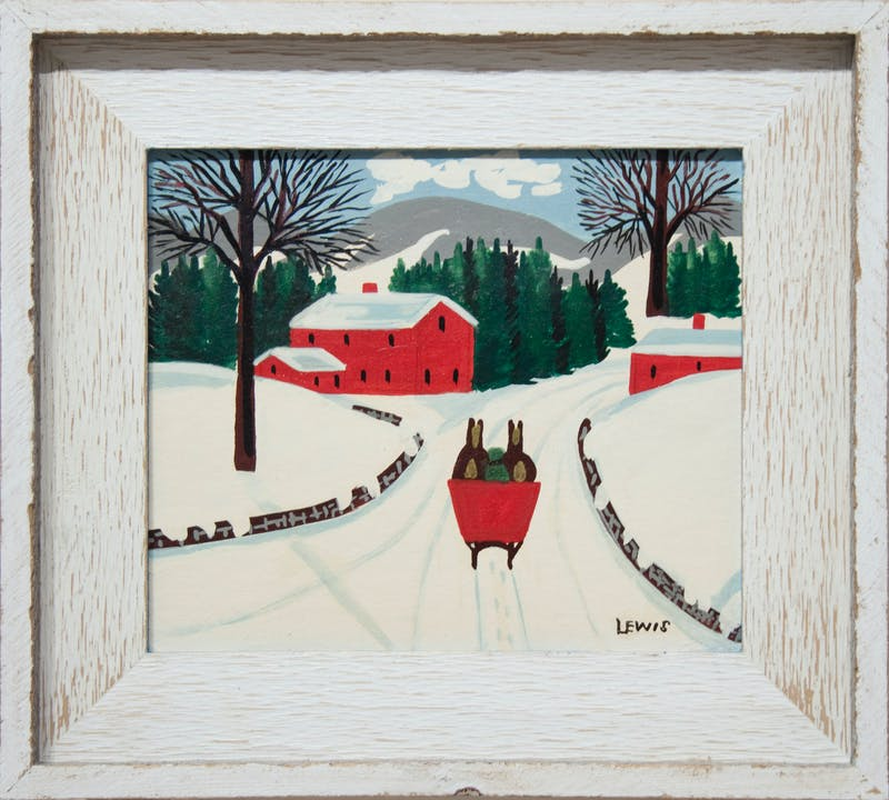 Red Sleigh Image 1